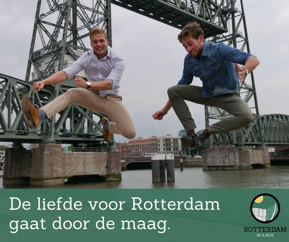 Blog: De liefde voor Rotterdam gaat door de maag
