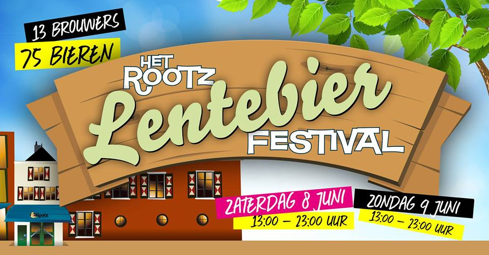 ROTT. Brouwers op het Rootz Lentebierfestival