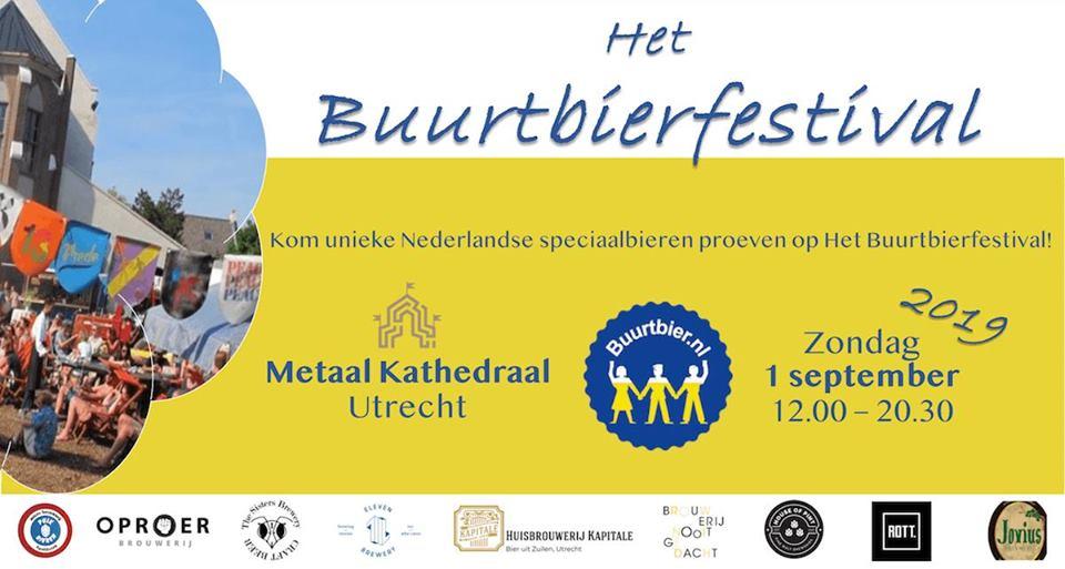 ROTT. Brouwers op Buurtbierfestival