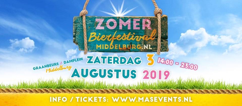 ROTT. Brouwers op Zomer Bierfestival Middelburg