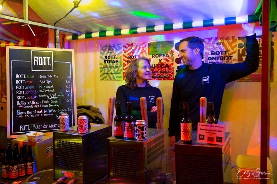 ROTT. Brouwers op Winterbierfestival Middelburg