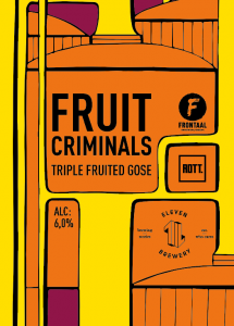 Fruit Criminals - ROTT. Brouwers - Frontaal - Eleven
