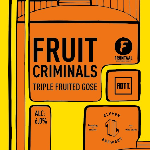 Nieuwe collab: Fruit Criminals
