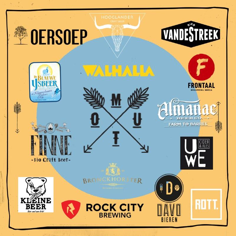 ROTT. Brouwers in Mout Bierfestival-experience pakket