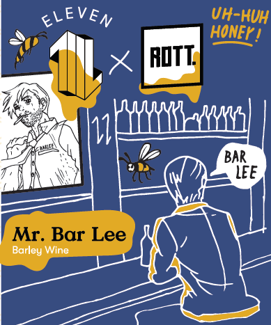 Mr. Bar Lee – ROTT. Brouwers en Eleven Brewery