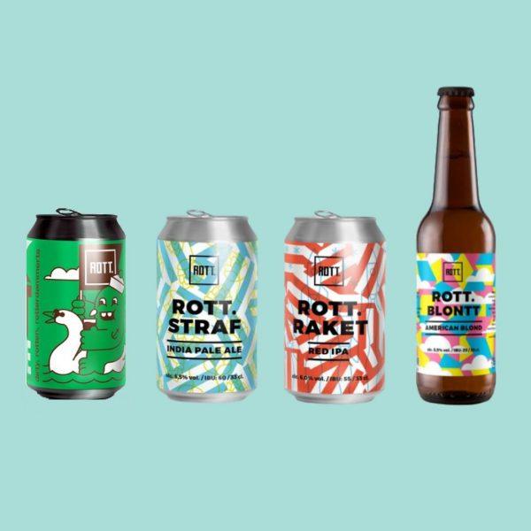 Verleng je zomer bier box ROTT. Brouwers