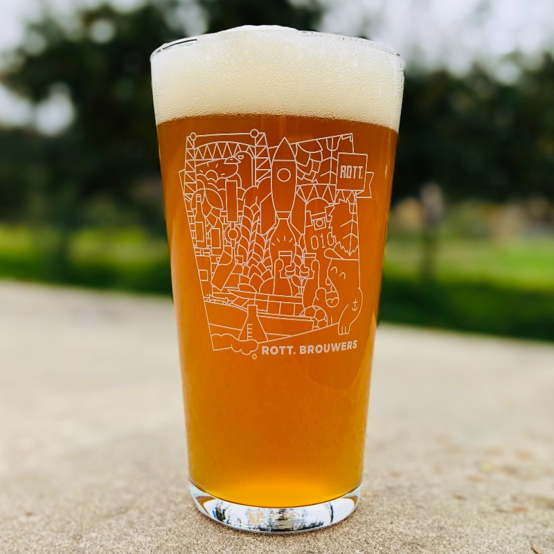 Stoer bier hoort in een stoer glas