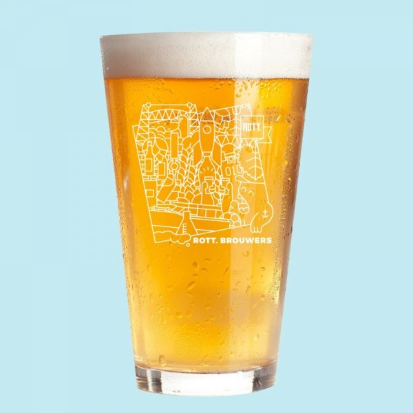 Glas ROTT. Brouwers