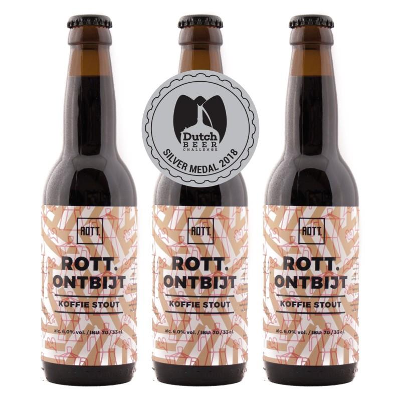 Rotterdamse bierbrouwers veroveren zilveren medaille bij Dutch Beer Challenge