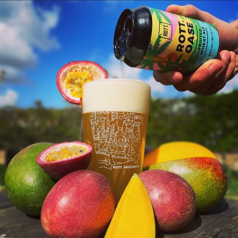 ROTT.oase: bier met mango en passievrucht