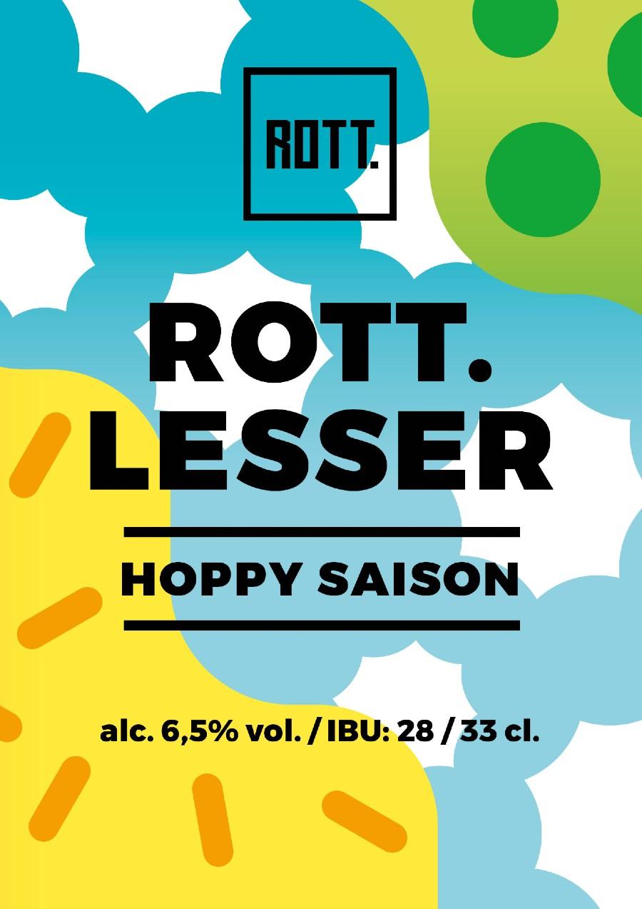 ROTT.lesser - Hoppy Saison